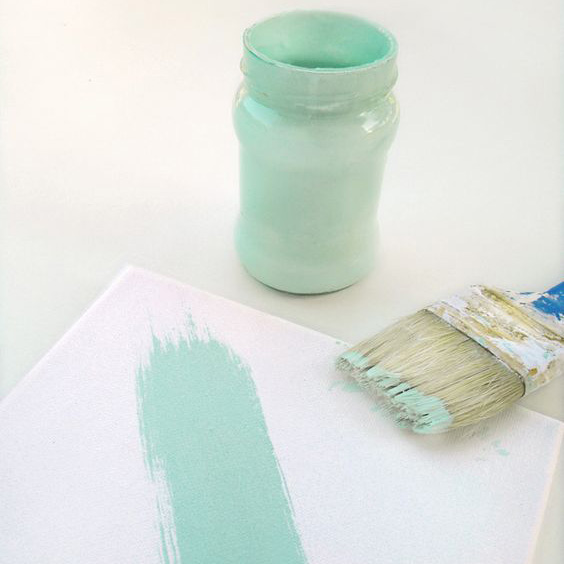 peinture chalk craie tuto