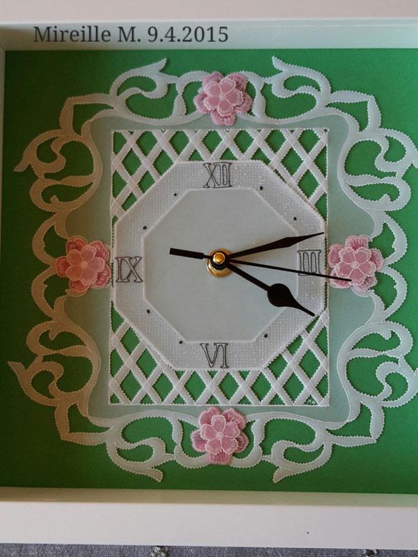 horloge pergamano