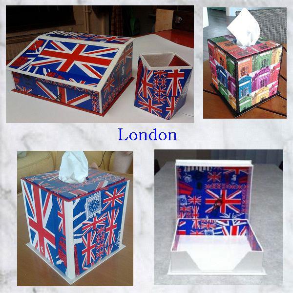 cartonnage London
