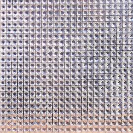 Strass argent 10x10cm 3mm