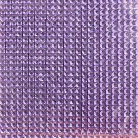 Strass autocollant  lilas 3mm 900 strass 10x10cm