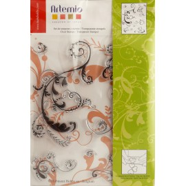 Tampon clear stamps arabesque