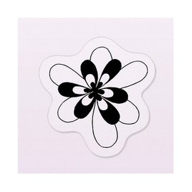 Tampon clear stamps petite fleur 4x4cm