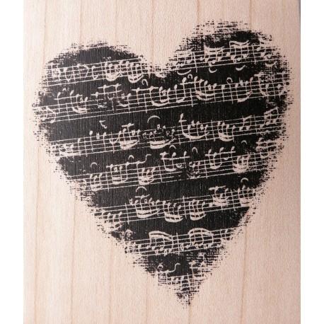 Tampon bois amour