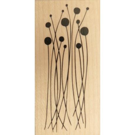 Tampon bois longues tiges