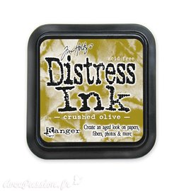 Encre distress Ranger Tim Holtz crushed olive