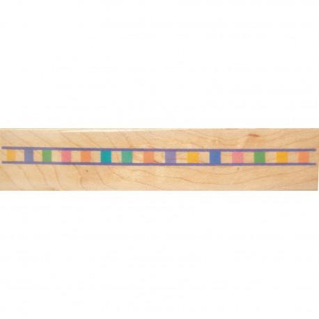 Tampon bois frise 10x1cm