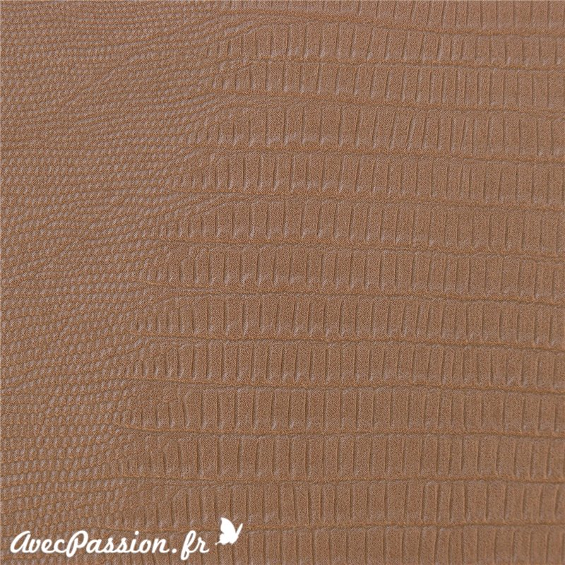 simili cuir pour cartonnage imitation t jus l zard taupe. Black Bedroom Furniture Sets. Home Design Ideas