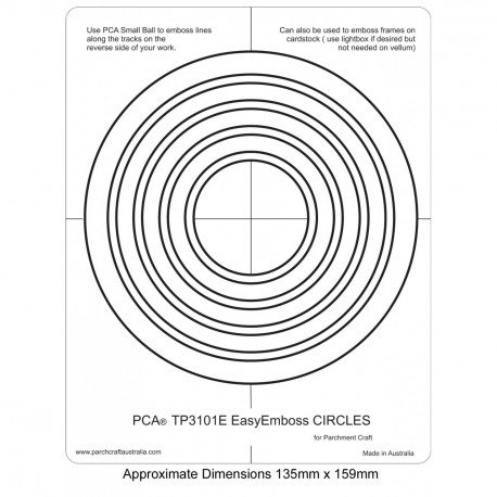 PCA Template GAUFRAGE Cercles Facile