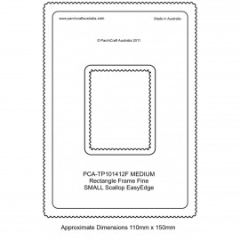 PCA Template FINE Rectangle milieu extérieur EasyEdge coquille medium