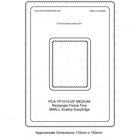 PCA Template FINE Rectangle milieu extérieur EasyEdge coquille medium