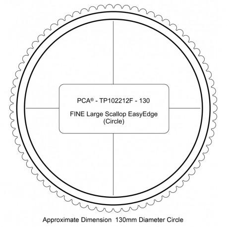 PCA Template FINE cercle large extérieur EasyEdge ciquille large