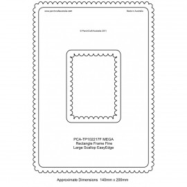 PCA Template FINE Rectangle milieu extérieur EasyEdge coquille large