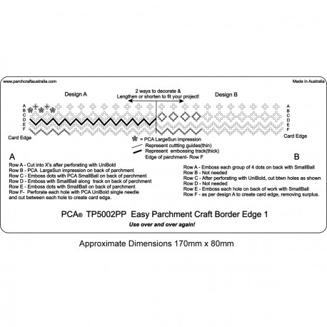 PCA Template Facile dentelle bordure