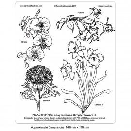 PCA Template GAUFRAGE Facile Fleurs simplement 4
