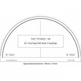 PCA Template FINE Front Page A5 extérieur EasyEdge 'V' Petits