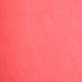 Papier nepalais lokta rouge vermillon 50x75cm