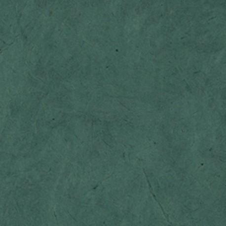 Papier nepalais lokta 50x75cm vert