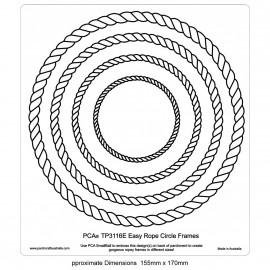 PCA Template GAUFRAGE Facile Cadres cercle de corde