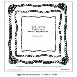 PCA Template GAUFRAGE Cadres corde nouée Facile