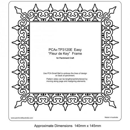 PCA Template GAUFRAGE Fleur de cadre clés