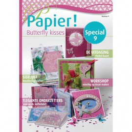 Pergamano Magazine papier papillons special n° 9 -81094-