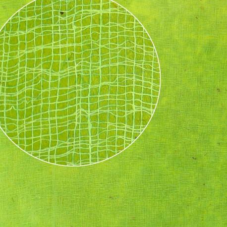 Papier cotton vert pomme 14 50x75cm