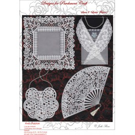 Pattern Parchment Julie Roces ladies fashion pattern 2