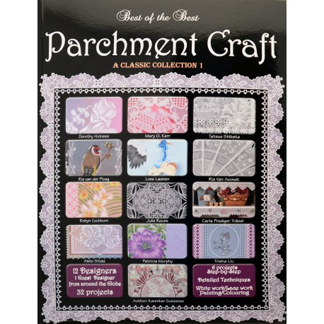 Livre Parchemin Craft best of the best Parchment Craft Classic Collection 1
