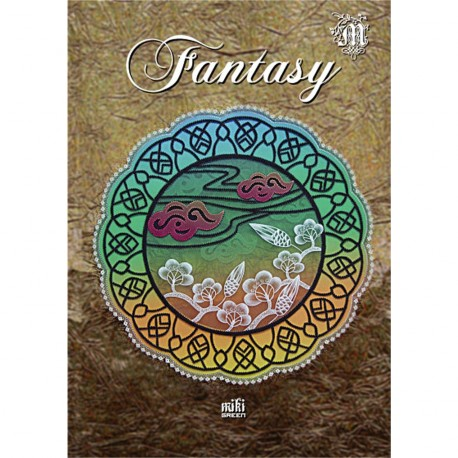 Livre Parchemin Craft Fantasy in Parchment Craft de Miki Green