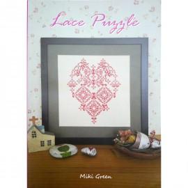 Livre Lace Puzzle Miki Green