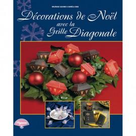 Livre Pergamano decorations de noel grille diagonale