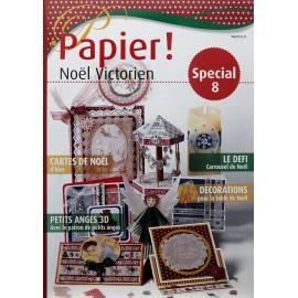 Pergamano Magazine papier ! noel victorien special n° 8 -81084-