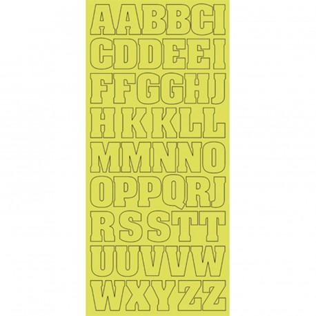 Sticker peel off adhesif argent croix