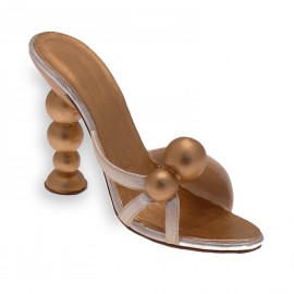 Chaussure miniature collection boule d'or