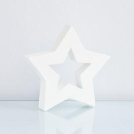 étoile blanche décopatch 19 cm