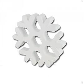 flocon de neige blanc 19.5 cm de diamètre