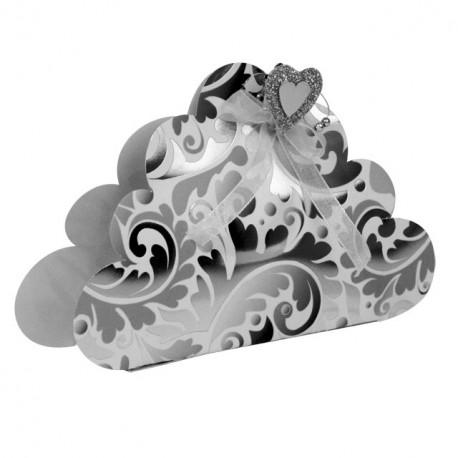 Gabarit de coupe boîte en forme de nuage martha stein meyer