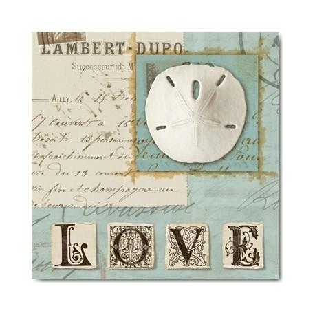 carte postale encadrement wild apple portfolio beach journal i. Black Bedroom Furniture Sets. Home Design Ideas