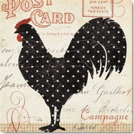 Carte Postale 14x14 cm Pela Studio campagne II