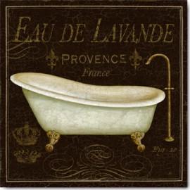 Carte Postale 14x14 cm Daphné Brissonnet bain de luxe I