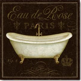 Carte Postale 14x14 cm Daphné Brissonnet bain de luxe II