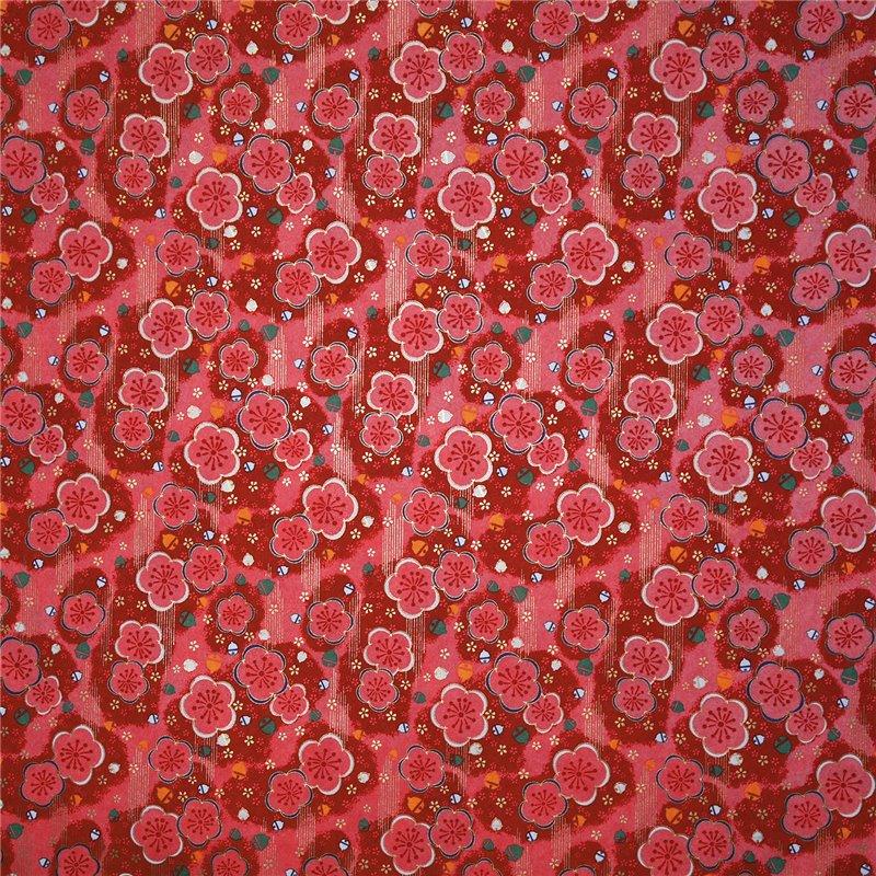 papier origami papier japonais washi fleurs roses. Black Bedroom Furniture Sets. Home Design Ideas