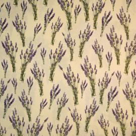 Papier tassotti motifs bouquets de lavande 50x70cm 123