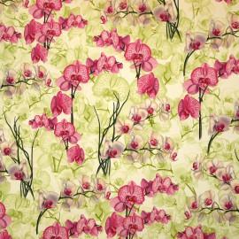 Papier tassotti motifs orchidées 50x70cm