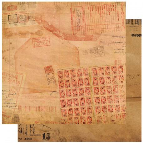 papier scrapbooking lisse et cetera mail room