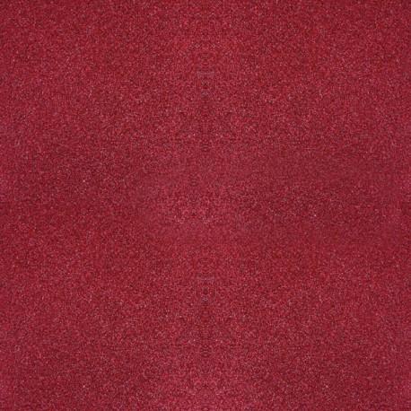 papier scrapbooking poudre de paillettes rouge