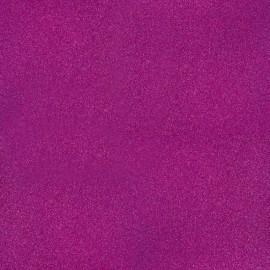 papier scrapbooking poudre de paillettes violet