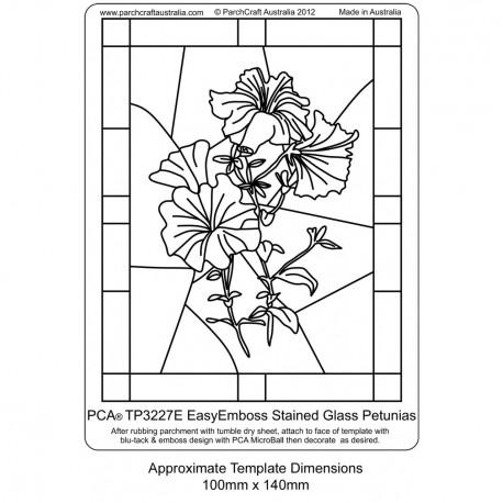 PCA Template GAUFRAGE petunias