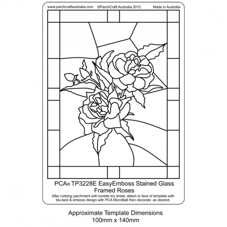 PCA Template GAUFRAGE roses